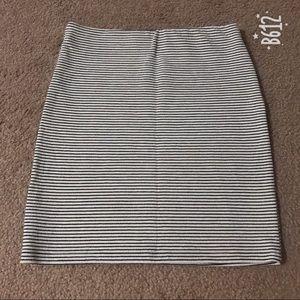 Bershka stripe skirt- never worn
